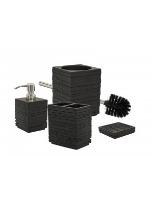 set-accessori-bagno-quadrotto-nero