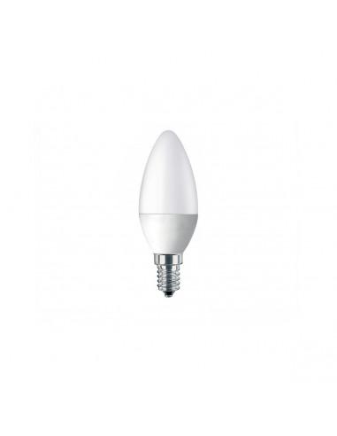 Set 3 lampadine a candela LED C37 E14 6W smartline