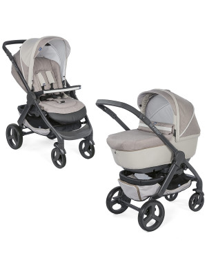 Passeggino combinato Chicco Duo StyleGo Up Crossover Beige