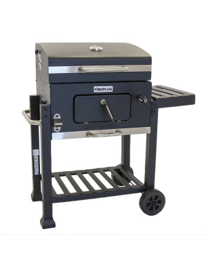 Barbecue-carbone-carbonella-FirePlus-Trolley
