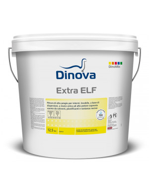 Pittura lavabile e supercoprente per interni EXTRA ELF