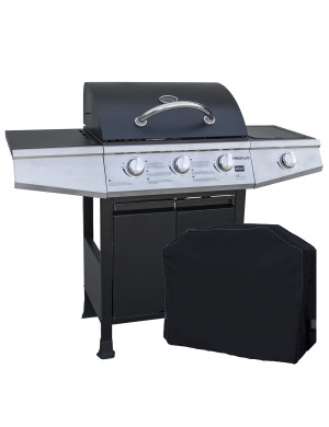 Barbecue a gas 4 fuochi Style 3 con Cover