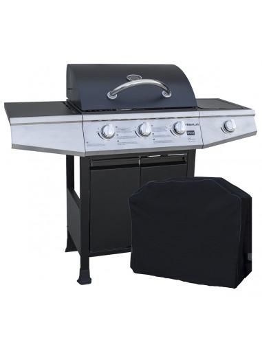 Barbecue a gas 4 fuochi Style 3 con Cover