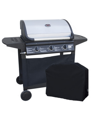 Barbecue a gas 3 fuochi FirePlus Serie 3 con Cover