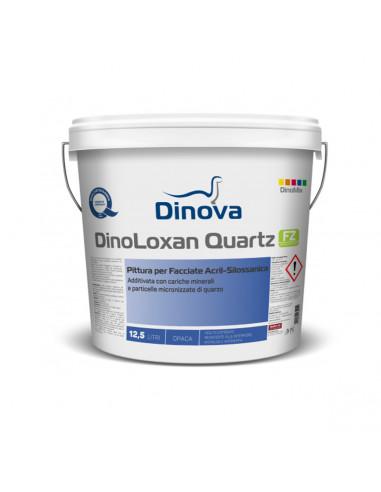 Pittura per facciate DinoLoxan Quartz Dinova