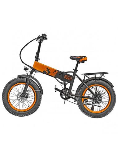 Bicicletta elettrica con pedalata assistita E-Bike Vinco Orange
