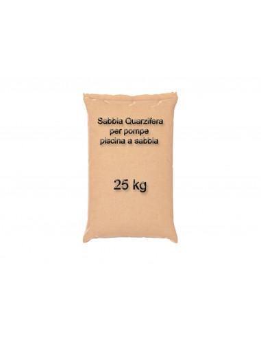 Sabbia Quarzifera per pompe a sabbia 25 kg