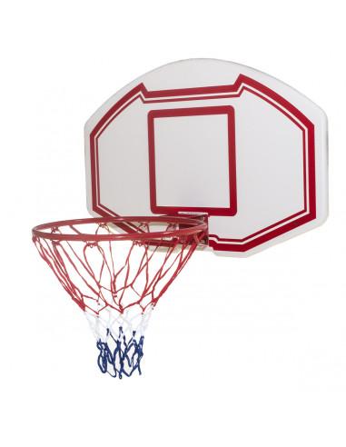 Tabellone canestro basket da muro 90x60 cm