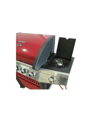 Barbecue a gas 5+1 fuochi FirePlus Master Cook rosso - in offerta online
