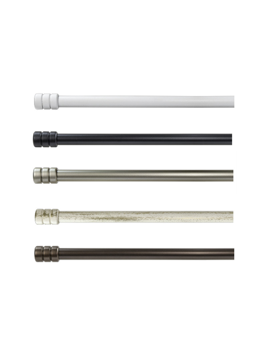 Kit bastone tende estensibile Cilindro