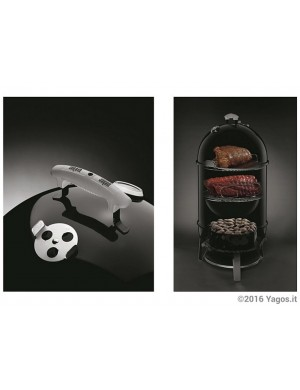 Affumicatore-a-carbonella-Weber-Smokey-Mountain-Cooker