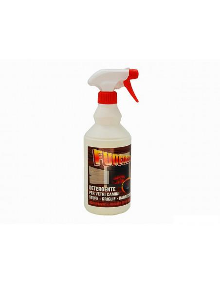 Detergente vetri caminetto stufa e griglie Fuocobello 750ml
