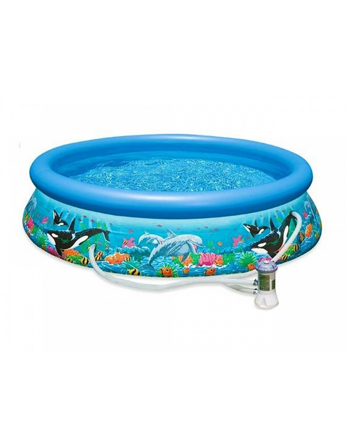 Piscina-rotonda-Easy-barriera-corallina-con-filtro-305xh76cm