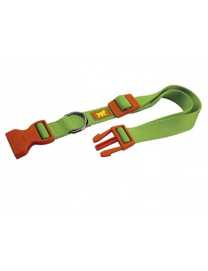 collare-club-colours-ferplas-c20-56-verde-20mm-56cm