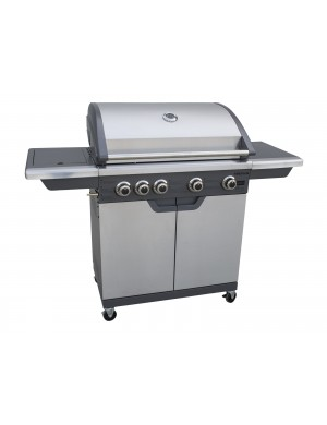 Barbecue-a-gas-Sense-4-Fireplus-con-4-fuochi-e-fornello-laterale
